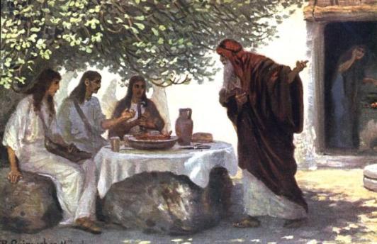 Abraham-visitors