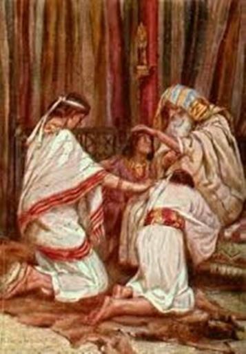 Jacob blesses Ephraim and Manasseh